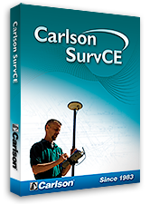 Carlson SurvCE3.0 now available
