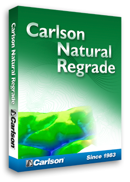 Carlson Natural Regrade for reclamation