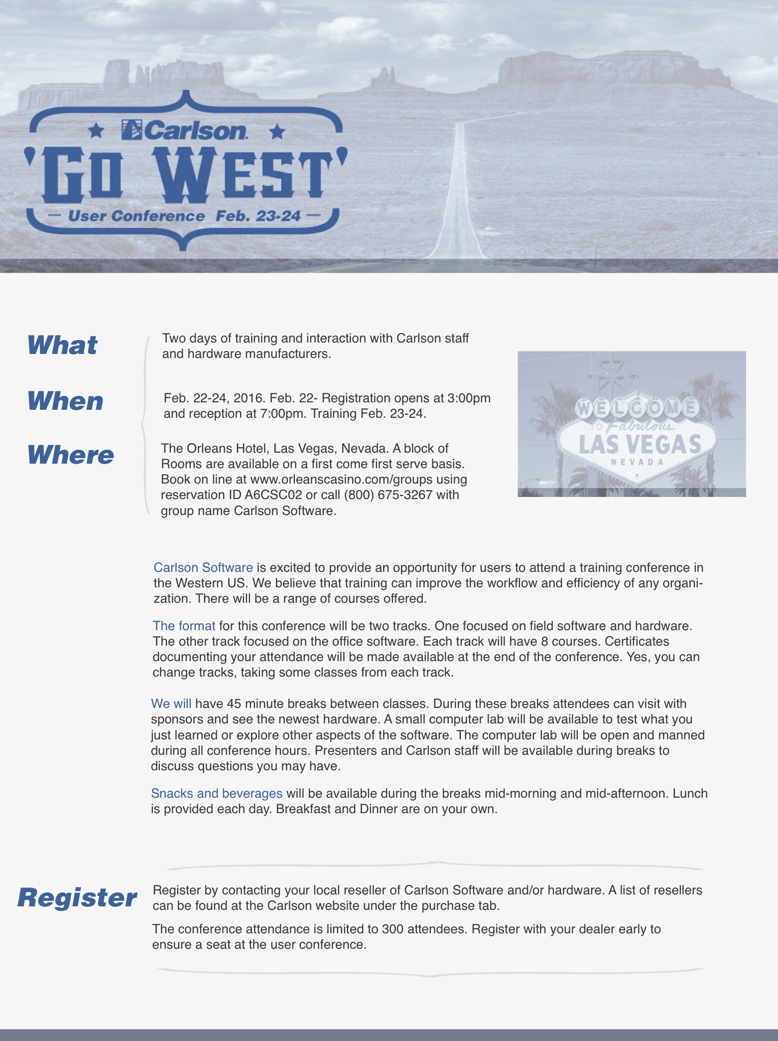 Western Conference Flyer Large