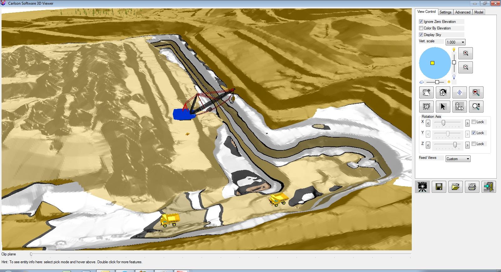 Carlson Software Surface Mining