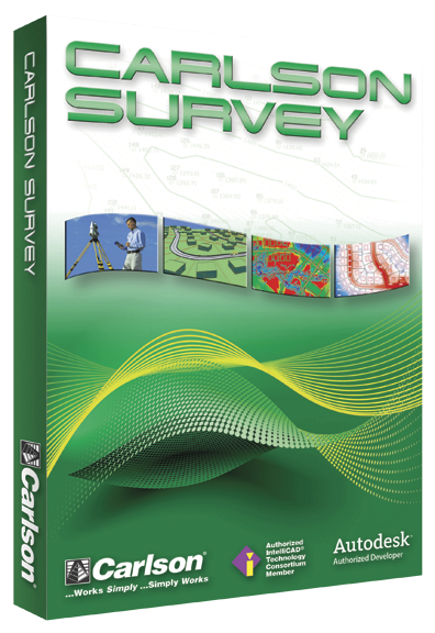 Carlson Survey is surveyors' number one choice for software.