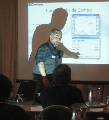 For the first time a series of classes at the Carlson User Conference in 2013 will be conducted in Spanish