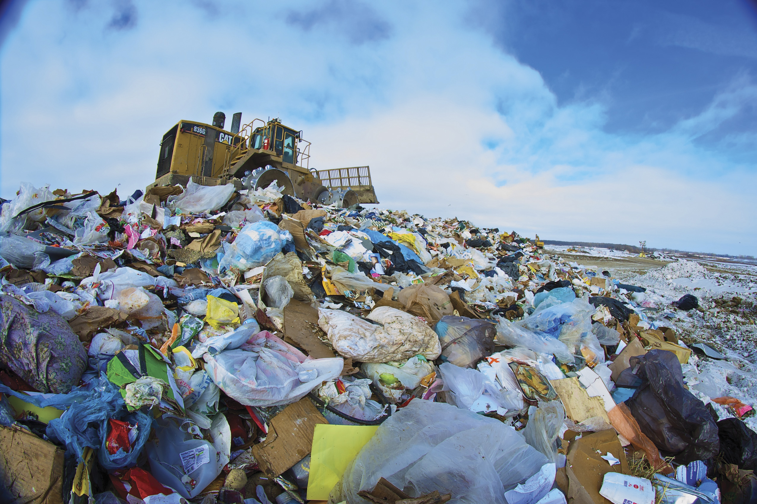 Use Carlson Landfill Grade for an efficient landfill