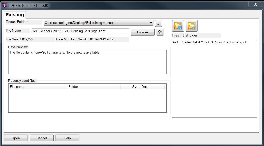 pdf import screen