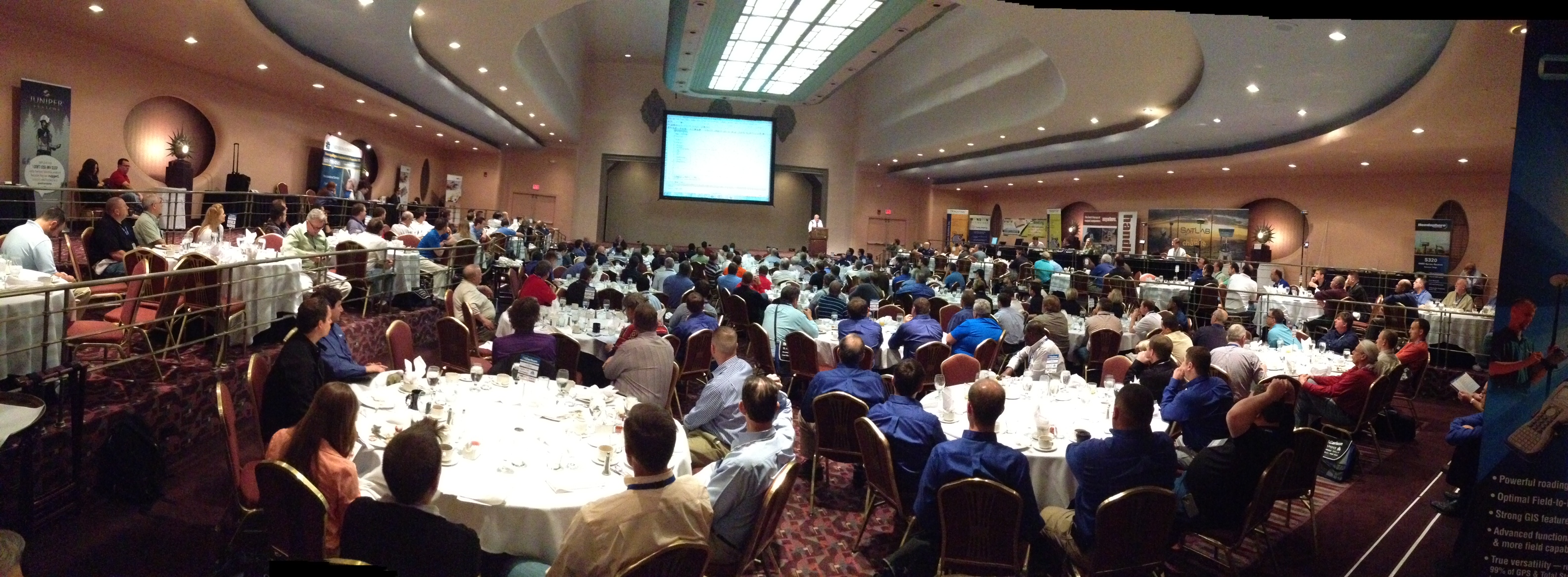 Carlson software users from around the world congregated in Cincinnati for Carlson's 30th Anniversary User Conference.