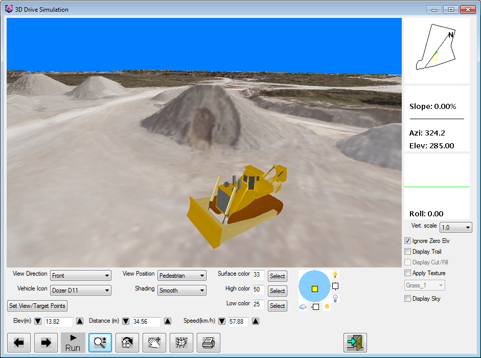 Enhanced 3D viewing in Carlson Mining