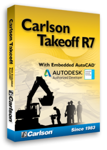 Carlson Takeoff, comprehensive software for data prep and site estimating