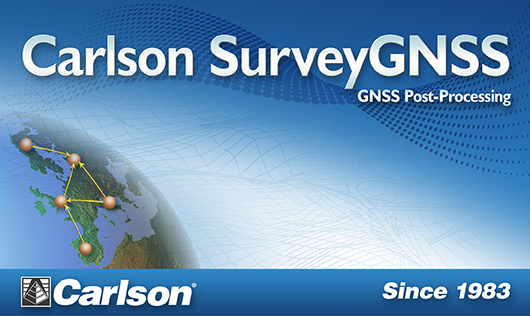 carlson software carlson software introduces new gnss post