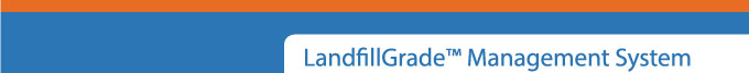 LandfillGrade™ Management System