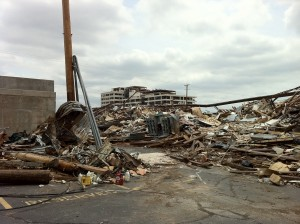 Joplin, Mo., soon after the tornado.