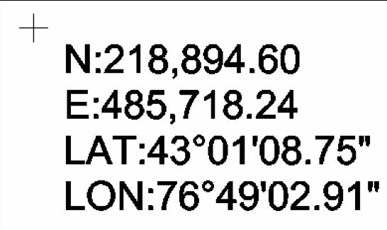 Label Coordinates