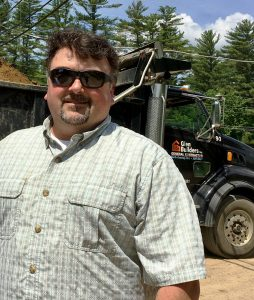 Matt Howard, V.P. of Business Development for Glen Builders Inc. in North Conway, N.H.