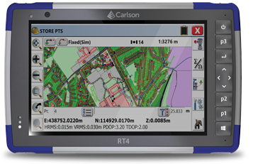 Introducing the Carlson RT4 Rugged Tablet Data Collector